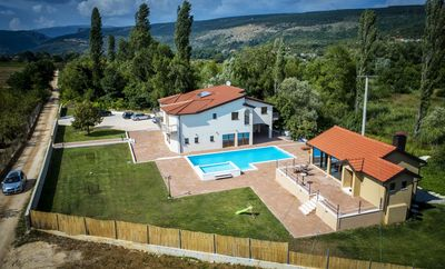 Photo for ctim245/ Brand new villa with a heated private pool in Imotski - Makarska, ideal for big groups,18+2 persons