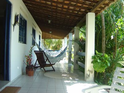 Photo for Beautiful beach house with pool in Catuama PE