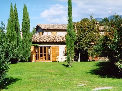 Photo for Rome countryside villa with swimming pool & park