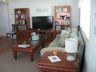 Photo for Perfect home for a beach get-a-way. Just steps from the sand and pet friendly