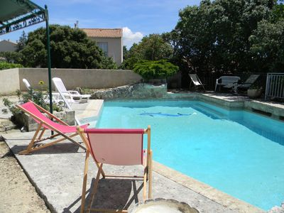 Photo for THE GUARD ADHEMAR VILLA WITH SWIMMING POOL ON A CLOSED GROUND OF 1000 M2