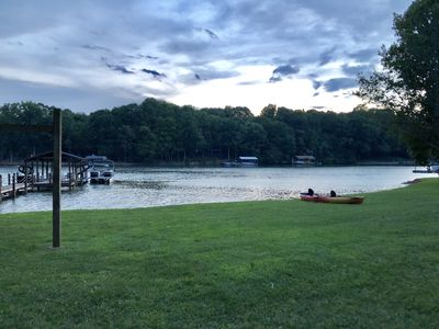 Photo for Fabulous Location for your Lake Vacation!
