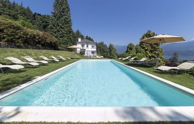 Photo for Refined luxury villa with pool overlooking the lake!