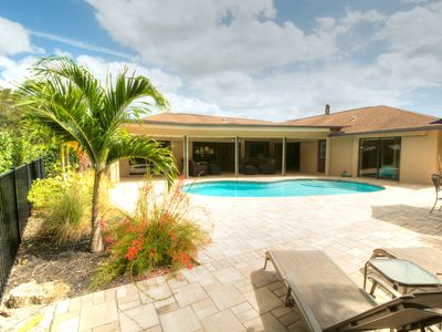 Photo for HEATED POOL * Luxury Pool Home * WIFI * Pooldeck * Garage* Minutes To The Beach