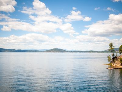 Photo for Welcome to Lake Coeur d'Alene - Private - Local - Secluded - Lake front home -