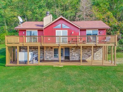 Photo for Spacious home w/ a hot tub, pool table, & view of Wisp Ski Resort - Dogs OK!