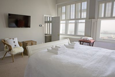 Master Bedroom with Sky TV