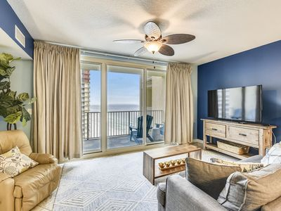 Photo for Make this condo your Winder Wonderland with amazing views of the Gulf!!