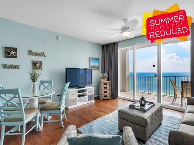 Photo for ~SUMMER AVAIL~ Updated BEACH View @Resort! Pool, Hotub, Gym + FREE VIP Perks!