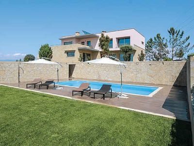 Photo for Contemporary villa w/ tennis court, games room, heated pool & free Wi-Fi