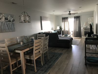 Photo for Beautifully renovated 2BR 2BA Condo w/ pool! Minutes from beach and boardwalk!