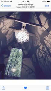 One of a kind light fixture !