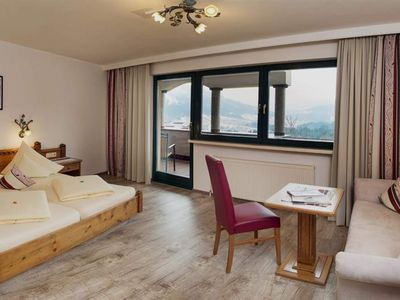 Photo for 3-6 days double room, shower / bath, WC, downhill - Hotel AlpenSchlössl