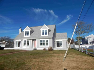 Photo for Waterview Home! Salt water view from every room! 30 yards to private beach!