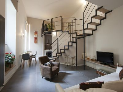 Photo for Farmhouse's House Beautiful Loft with Terrace Historic Center Private Garage
