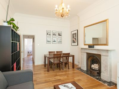 Photo for lovely one bedroom with high ceilings in Notting Hill