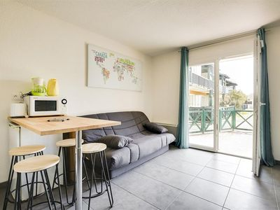 Photo for Biscarrosse Plage studio cabin 4 people - Near beaches