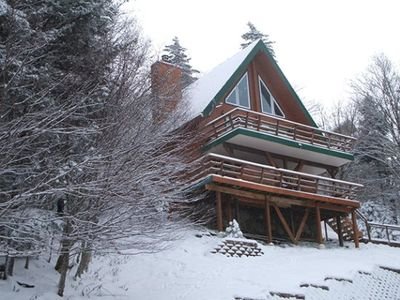 Photo for S West Ridge Rd 103 -– RIGHT BY SLOPES, PRIVATE HOT TUB, FREE SHUTTLE TO VILLAGE CENTER, GREAT VIE