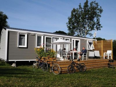 Photo for Camping La Grande Plage *** - Premium Mobile Home Epervier 4 Rooms 6 People
