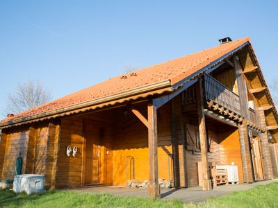 """Photo for Chalet """"La Palette"""" with Wifi in nature on a plot of 11 ares"""