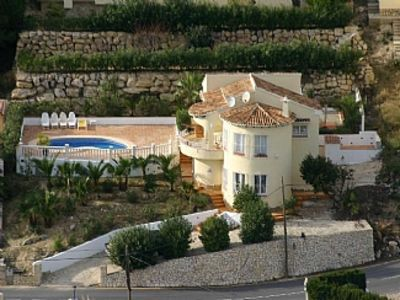 Photo for Attractive villa with sea view and private pool in a peaceful location close to amenities