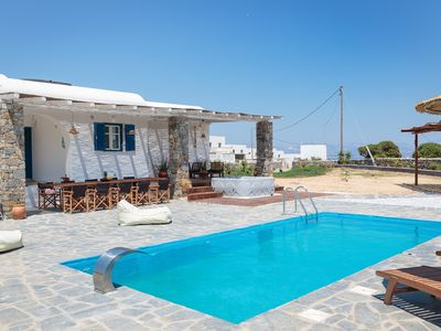 Photo for Charming little villa Elena with private pool, Jacuzzi and sea views!