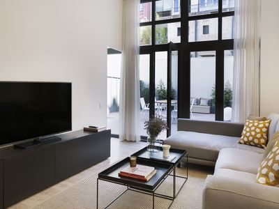 Photo for MIRÓ: New, modern and design apartment with 2 bedrooms, 2 bathrooms and terrace.