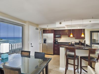 Photo for OCEANFRONT | MODERN |  CLEAN | 1-Bdrm PLUS Den | PRKG Included!