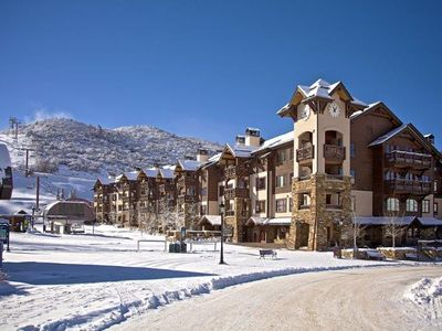 Photo for Ski In/Out Luxury Condo. Sleeps 6-8 in beds!