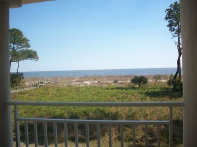Photo for Daufuskie-Direct Oceanfront Condo $100 Golf Cart Credit and Free LA
