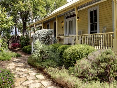 Photo for Gruene's Yellow Haus & Suite, Sleeps 1-14, Walk to Gruene Hall & River