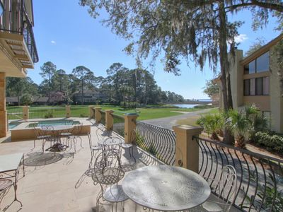 Photo for New Harbour Town Designer House Pool & Golf Views 16-18th Holes & Pet Friendly!