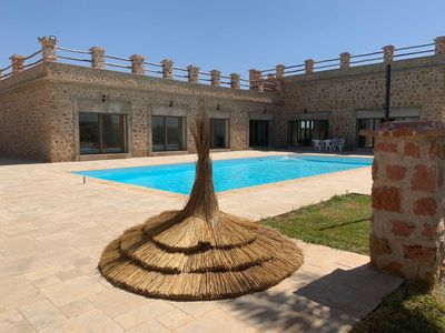 Photo for Luxury villa with private pool not overlooked.