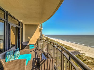 Oceanfront and gorgeous wrap balcony off master suite,big kitchen,pools,spa,exercise rm
