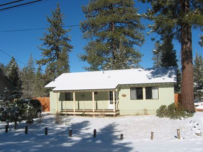 Photo for Quiet meadow view home located just outside South Lake Tahoe