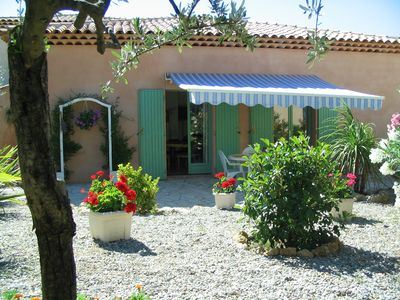 Photo for House, flower garden and spacious terrace, 4 people, 2 bedrooms