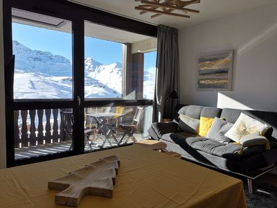 Photo for Modern apartment for 8 pers. in the heart of Val Thorens with exceptional views