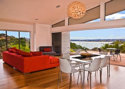 Fabulous sea view from lounge and deck
