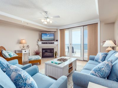 Photo for Enjoy spectacular views of the ocean and boardwalk in a professionally decorated, spacious unit with all the touches of home.