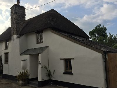 Photo for Cosy Thatched Saunton  Braunton Cottage