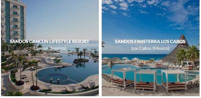 Photo for Sandos locations in Mexico---Can book according to your schedule!!!