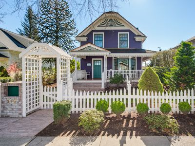 Photo for Front Street Purple Victorian with a Turret!