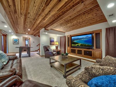 Photo for People's Choice! Home Theater, Families, Pets, Close to Heavenly, Hot Tub