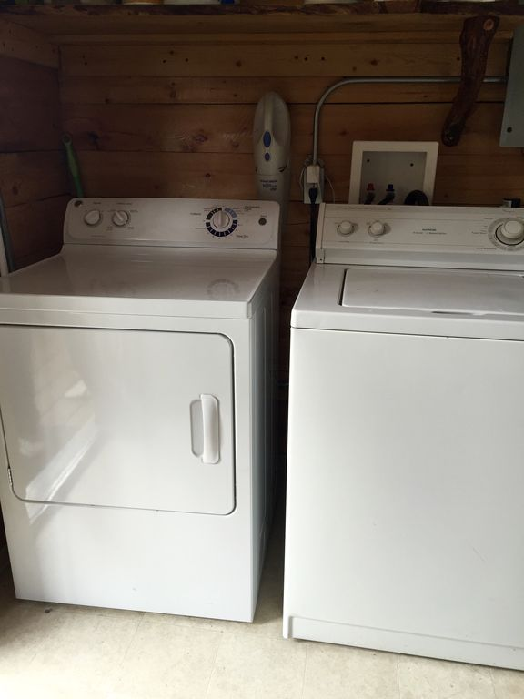 Cooper Landing Cabin Rental   Available Washer U0026 Dryer In The Shower House