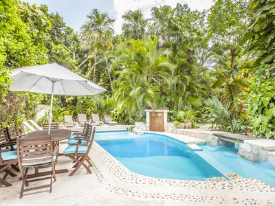 """Photo for Amazing """"Villa Dorada"""" Next to the BEACH with private pool and Free Wifi!"""