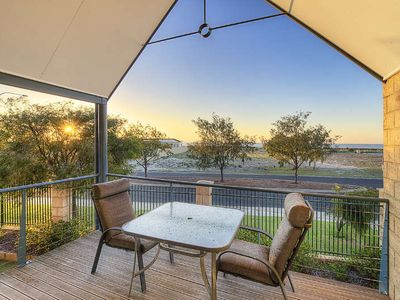 Photo for Ocean View Port Geographe is a modern stylish townhouse with ocean views by the marina.