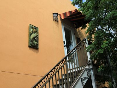 Photo for Light and Airy and Private, Great Location, Historic Neighborhood.