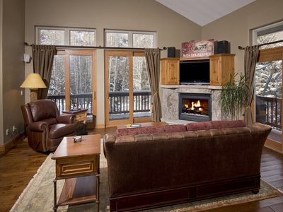 Photo for Beautiful Mountain Home - Private Hot Tub - Free Shuttle Bus