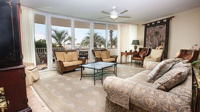 Photo for 1,800 ft²/3BR/3BA Condo/Balcony/Gulf View/Free Parking-Unit D213 by Hosteeva