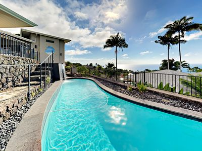Photo for 'Aniani Hale' - The Glass House - Spectacular Views, Private Pool & Hot  Tub